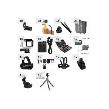 Kit Acessórios para as Câmeras de Ação Gopro Hero Black 5 Hero 6 Hero 7 Black