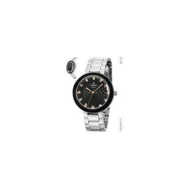 Relógio de Pulso Champion Social Aço Resistente a àgua   Joalheria    Comparar preço de Relógio de Pulso - Zoom c9aeaa57e4