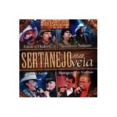 Sertanejo Na Veia 20 Sucessos Ao Vivo CD