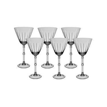 Conjunto de Taças para Água Oxford Crystal Arlequim em Cristal 400 ml – 6 Peças