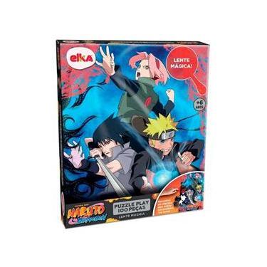 Imagem de Puzzle Play 100 Peças Lente Magica Naruto 1192 - Elka