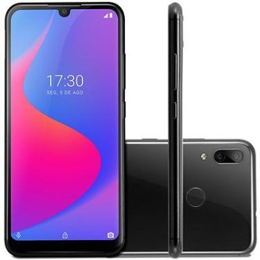 "Smartphone Multilaser G Pro, 32GB de Armazenamento, Câmera Traseira Dupla de 13MP + 2MP, Câmera Frontal de 5MP, Tela de 6.1"", Preto - P9097 - Multilaser -  CX 1 UN"