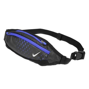 Pochete Nike Small Capacity AC4059-063, Cor: Preto/Azul, Tamanho: UNICO