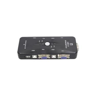Chaveador Switch Kvm 4 Portas Vga + 4 Usb Manual - M-6252