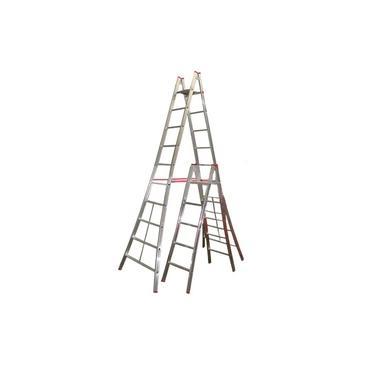 Escada de Alumínio Alulev Pintor, 2 x 8 degraus - PN208