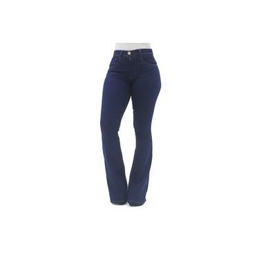 Calça Flare Jeans Escura Biotipo