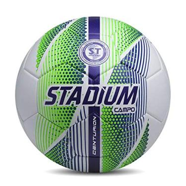 Bola de Futebol Stadium Centurion Campo Verde/branco/azul 52055571992-u