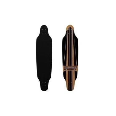Shape Longboard Insanos para Freestyle 100 cm Flat com Lixa