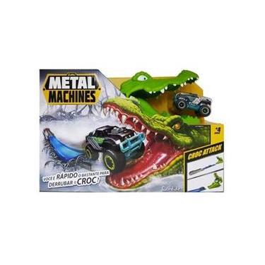 Imagem de Pista Metal Machines Croc Attack Crocodilo - Candide