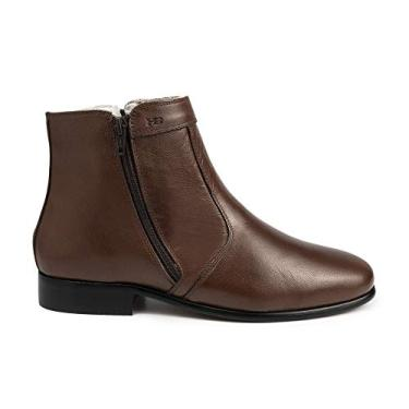 Bota Social Hb Agabe Boots - 400.002 - Pl Tabaco - Solado de Borracha Bota Social Hb Agabe Boots - 400.002 - Pl Tabaco - Numero:41