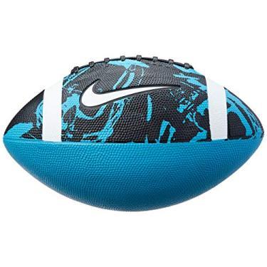 Bola de Futebol Americano Spin 3.0 Fb 9 Oficial Nike Único Omega Blue/Black/White/White