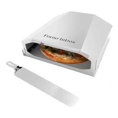 Imagem de Forno Refratário Inbox Pizza 38x38 1 Pedra P/ Fogão Gás