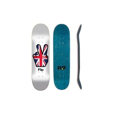 Shape Flip Skateboards Liberty Team Branco 8,13