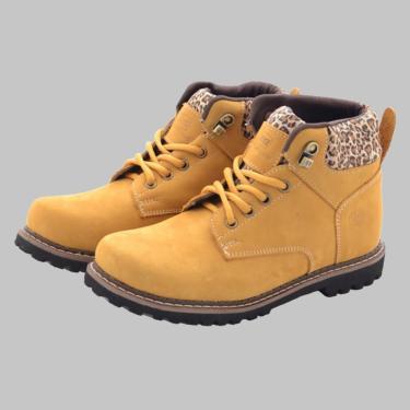 Bota Dexshoes Adventure Amarelo  feminino