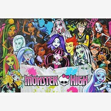 Imagem de Quebra Cabeça 100 Peças Monster High Ccl34 Mattel