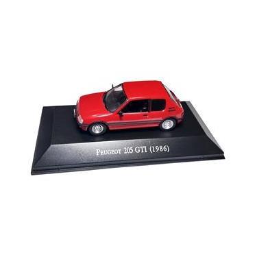 Imagem de Miniatura Peugeot 205 GTI 1986 Coleção Carros Inesquecíveis