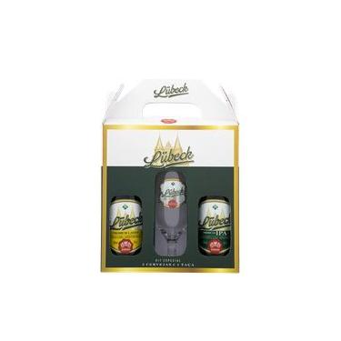 Kit Cerveja Lubeck Premium Lager e American IPA com Taça