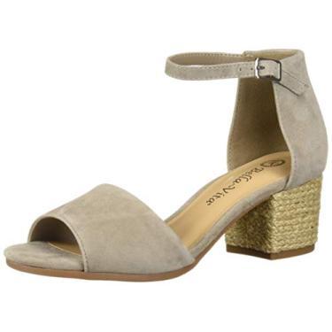 Imagem de Bella Vita sandália feminina com alça de quatro pés, Stone Kidsuede Leather, 8.5 Wide