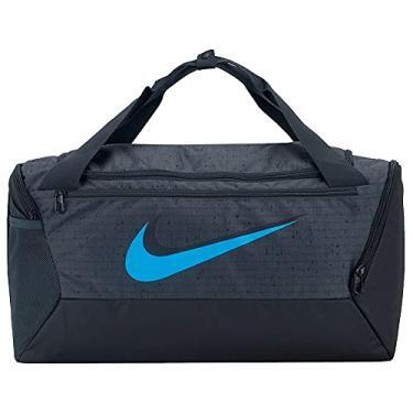 Imagem de Bolsa Nike Brasilia Duff S 9.0 41 litros SP21 Preto e Azul