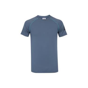 Camiseta adidas WKT Tee - Masculina - CINZA ESCURO adidas 6c5f2c2ff1454