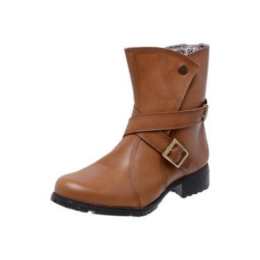 Bota Mega Boots 3010 Bege  feminino