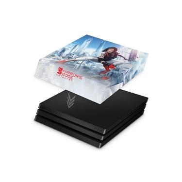 Capa Anti Poeira para PS4 Pro - Mirror's Edge Catalyst