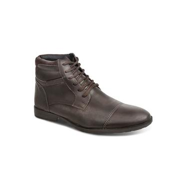 Bota Dress Boot Masculina Sandro Republic Grajaú Marrom Escura
