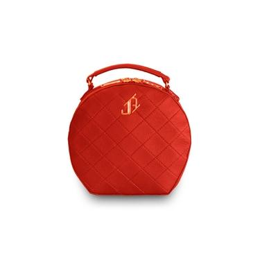 Bolsa Redonda Tiracolo Vermelha Johny Rafael JRF06BO07