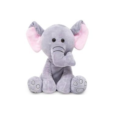Imagem de Pelúcia Elefante 25cm Meu Elefantinho Buba