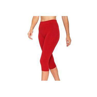 Calça legging corsário para academia fitness feminina Lupo 71578
