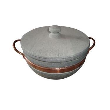 Panela em pedra sabão 6,0 litros