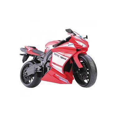 Imagem de Moto Racing Motorcycle 34,5CM Vermelho Roma 0905