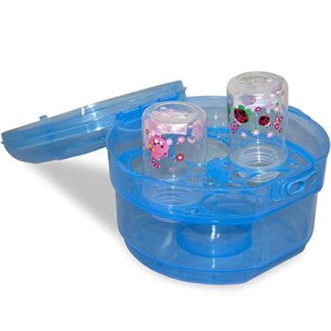 Esterilizador De Microondas Mamadeiras E Chupetas - Baby Style - Azul