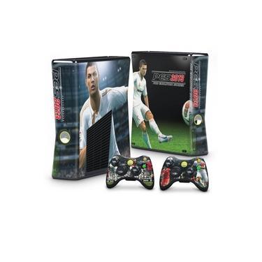 Skin Adesivo para Xbox 360 Slim - Pes 2013
