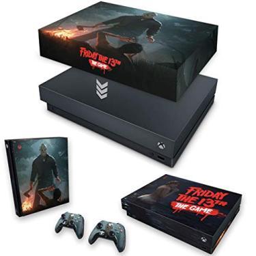 Capa Anti Poeira e Skin para Xbox One X - Friday The 13Th The Game - Sexta-Feira 13