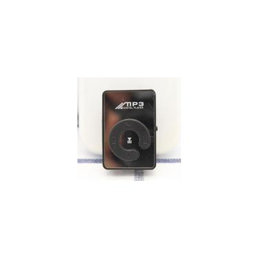 Cartão MP3 Clipe MP3 Espelho MP3 Mini Student MP3 MP3 (Black)