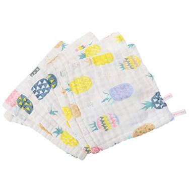 Imagem de EXCEART 6 Peças de Algodão Natural Toalha de Banho Infantil Lenço Infantil Toalhas de Banho para Meninos E Meninas
