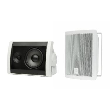 Par de Caixas Acústicas para Ambiente Externo, Boston Acoustics, VOYAGER 40 WHITE, 125 W