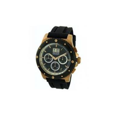 6e336f7593c Relógio Masculino Magnum MA33746P - Analógico Resistente à Água Cronógrafo  Calendário