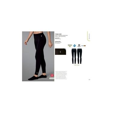 Calça legging feminina térmica segunda pele underwear Lupo 71582