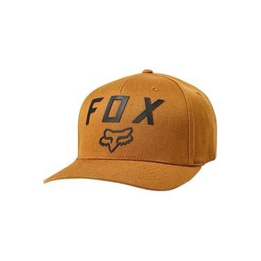Boné Fox Number 2 FlexFit Caramelo