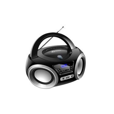 Rádio Portátil Lenoxx Boombox BD 1370 5W CD Player e Display Digital