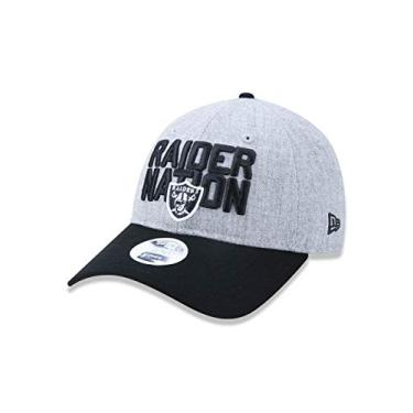 BONE 920 OAKLAND RAIDERS NFL ABA CURVA MESCLA CINZA NEW ERA 436339ed136