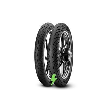 Pneu Moto Par Pirelli 90/90/18 + 2.75/18 Supercity Titan 150