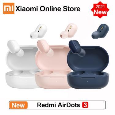 Imagem de Xiaomi redmi airdots 3-fones de ouvido sem fio, bluetooth 2021 aptx, som estéreo e microfone