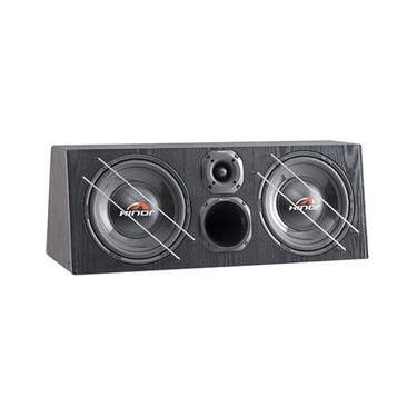 Caixa Amplificada Automotiva Box Trio 2000 Hinor
