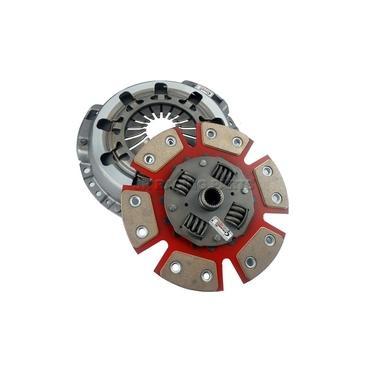 Imagem de Kit Embreagem Ap Cerâmica Light Plato 980lb Disco 06 Pastilhas Com Mola Ate 350cv - Ceramic Power