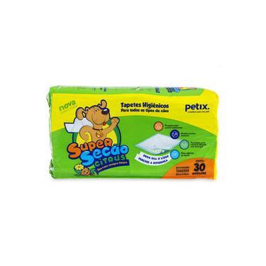 Super Secão Citrus Tapete Higiênico Petix para Cães - 30 Unidades