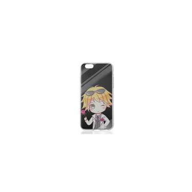 IPhone Para macio tpu Phone Case pintado transparente pintado Tampa Shell