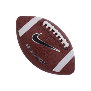 Bola de Futebol Americano Nike All Field 3.0 FB 9 Official - MARROM Nike 633c38387f556